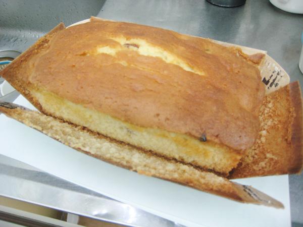 パン屋さんのケーキ