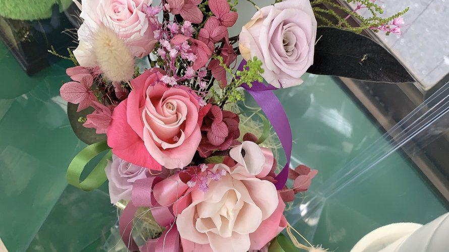 ★オーナー様より手作りのお花を頂きました★
